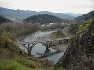 Myrtle Creek bridge